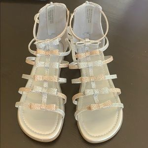 7ce04970a27 Kids  Gladiator Sandals Zipper Back on Poshmark
